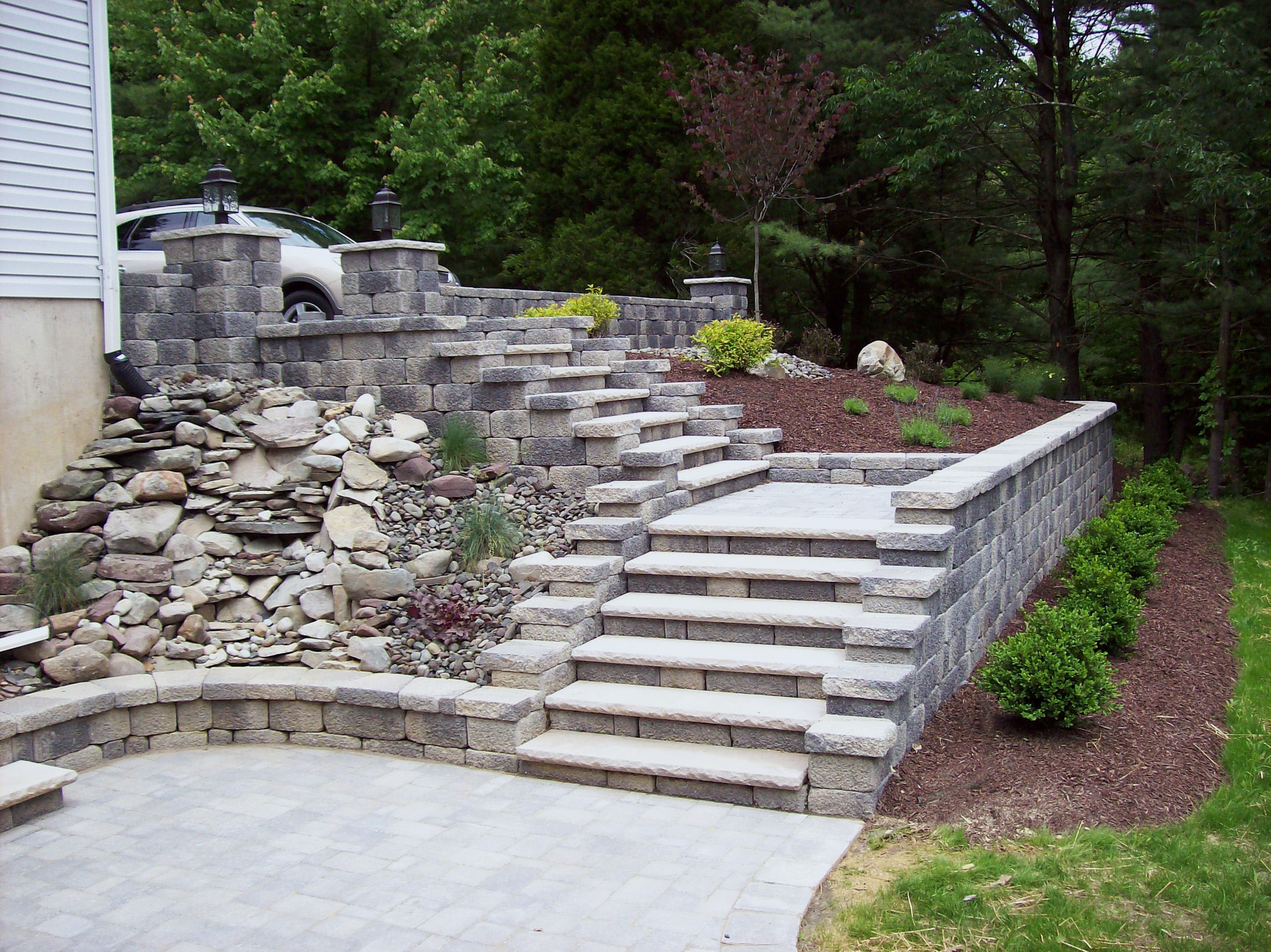 hardscape backyard landscaping ideas